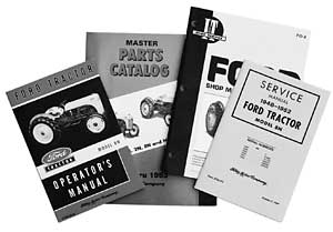 Manuals and catalogs