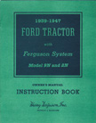Ford Tractor Ferguson System Instruction Book