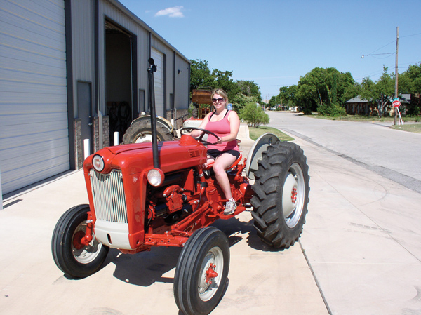 Ingrid takes the 641D out for a test drive.