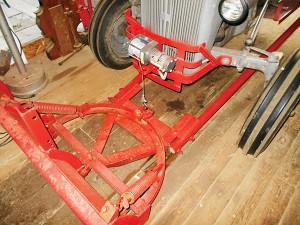 Daniel Howe's 1940 9N plow arm