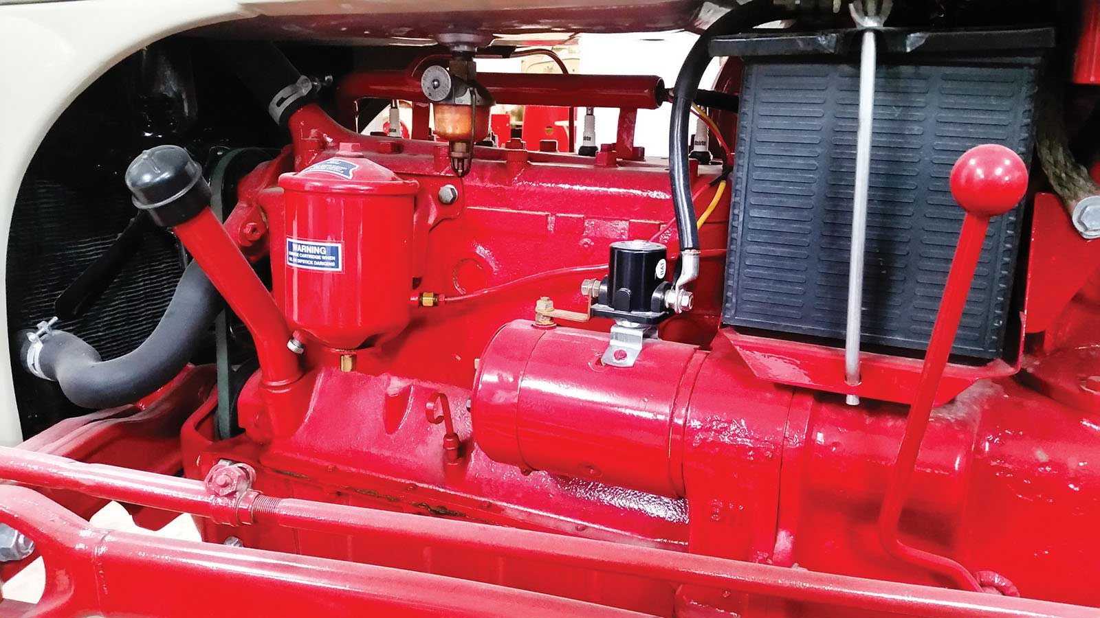 Restoration N News Ford 8n Wiring Diagram And Repair Tips The First Order Of Business Was Tearing Down Tractor As Many Parts Possible Were Removed Engine Split From I Learned How