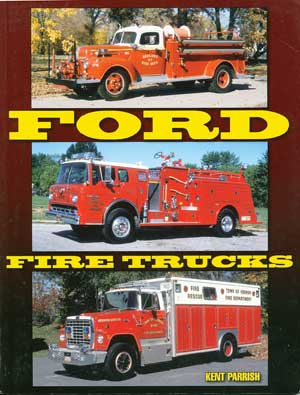 Book review Ford Fire Trucks cover